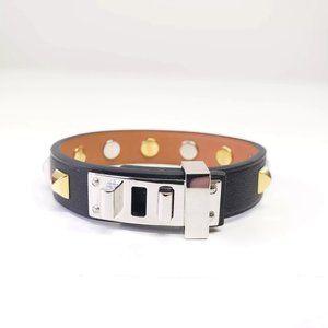 Hermes Swift Studded Bracelet - Brown